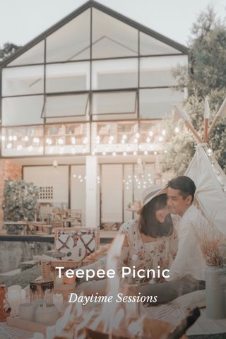 Teepee Picnic Daytime Sessions