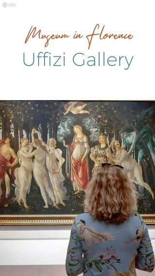 Uffizi Gallery Museum in Florence