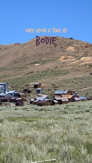 Bodie Once Upon a Time in