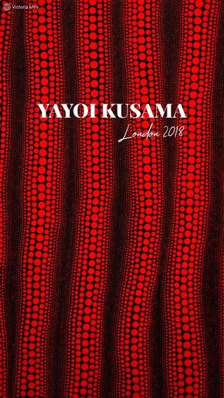 YAYOI KUSAMA London 2018