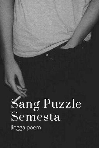 Sang Puzzle Semesta Jingga poem