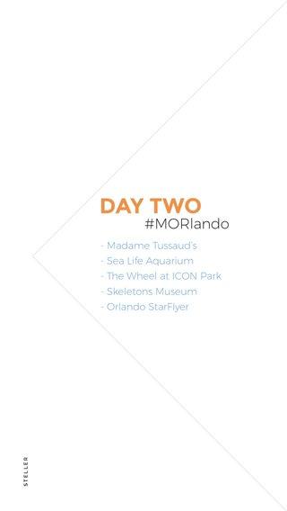 DAY TWO #MORlando - Madame Tussaud's - Sea Life Aquarium - The Wheel at ICON Park - Skeletons Museum - Orlando StarFlyer