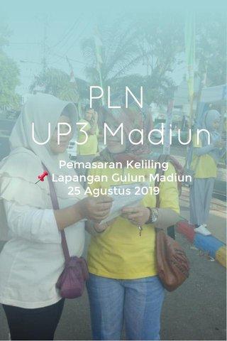 PLN UP3 Madiun Pemasaran Keliling 📌 Lapangan Gulun Madiun 25 Agustus 2019