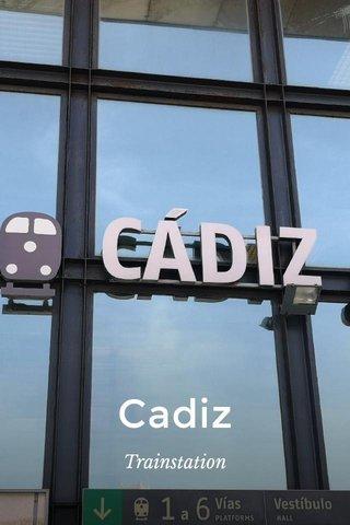 Cadiz Trainstation