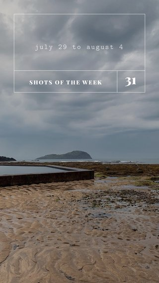 31 july 29 to august 4 SHOTS OF THE WEEK