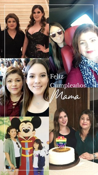 Mama Feliz Cumpleaños