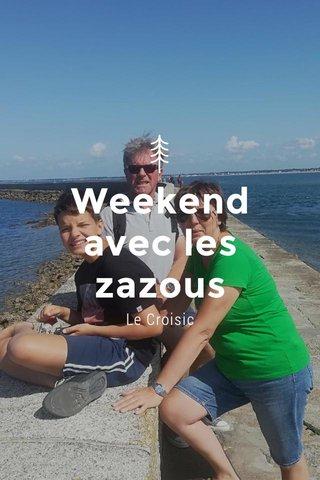 Weekend avec les zazous Le Croisic