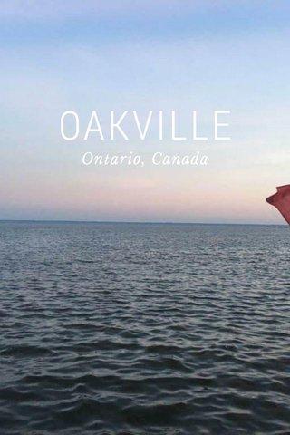 OAKVILLE Ontario, Canada