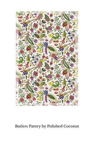 Butlers Pantry by Polished Coconut