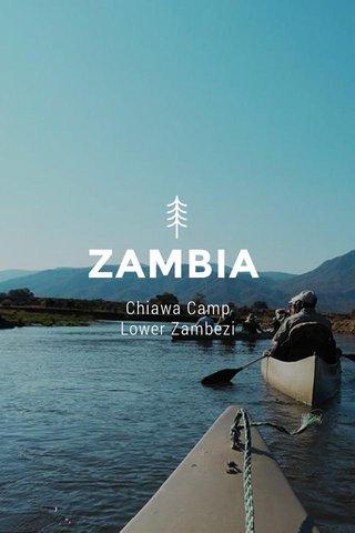 ZAMBIA Chiawa Camp Lower Zambezi