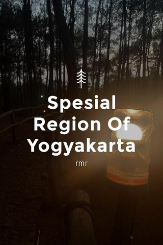 Spesial Region Of Yogyakarta rmr