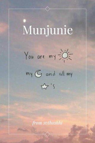 Munjunie from svthoshhi