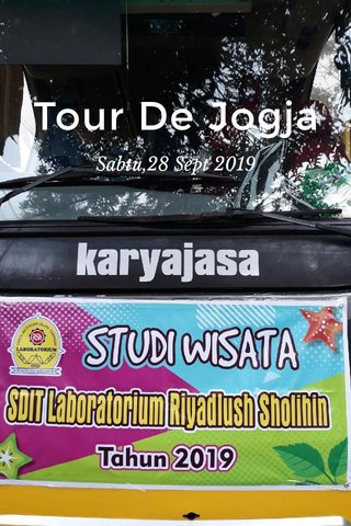 Tour De Jogja Sabtu,28 Sept 2019