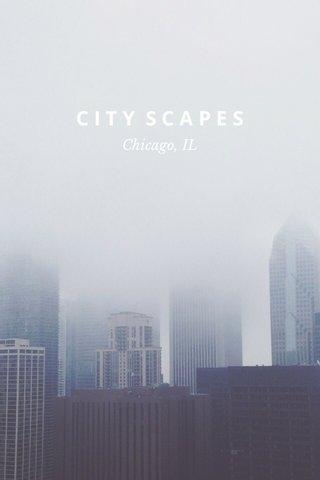 CITY SCAPES Chicago, IL