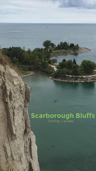 Scarborough Bluffs Toronto, Canada
