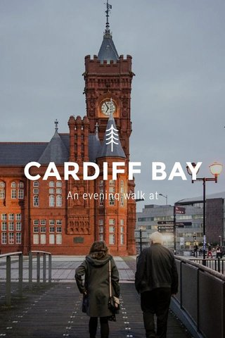 CARDIFF BAY An evening walk at