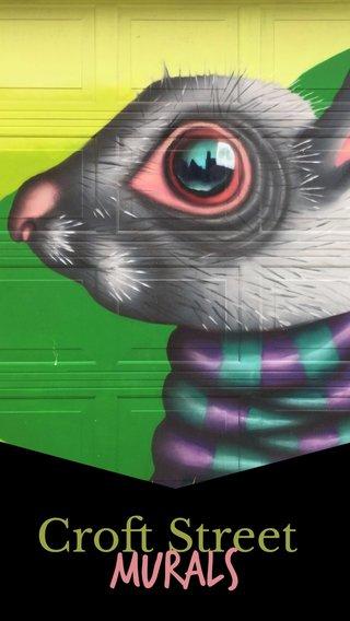 Murals Croft Street
