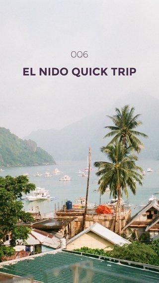 EL NIDO QUICK TRIP 006