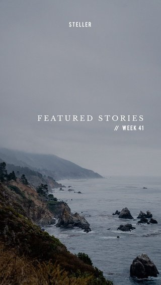 FEATURED STORIES Week 41 STELLER //