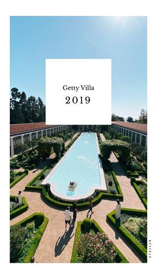 2019 Getty Villa