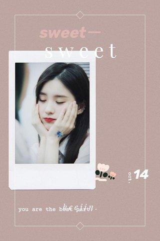 sweet heejin.