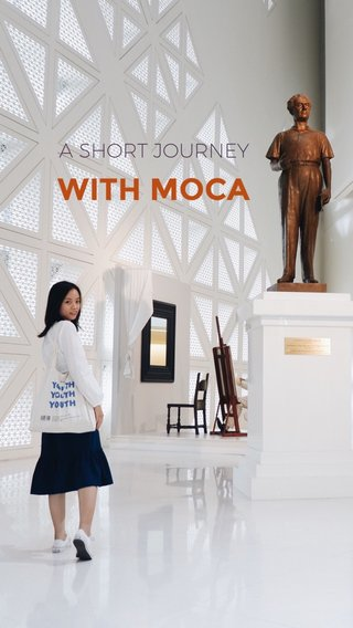 WITH MOCA A SHORT JOURNEY