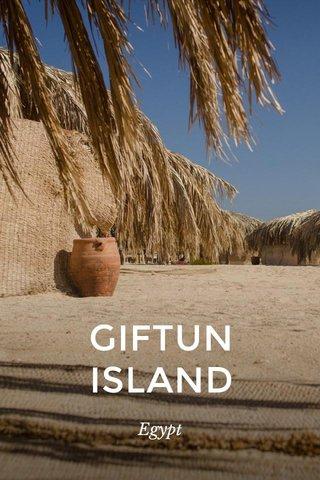 GIFTUN ISLAND Egypt