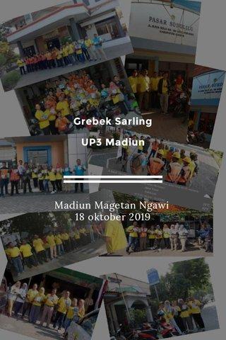 Grebek Sarling UP3 Madiun Madiun Magetan Ngawi 18 oktober 2019