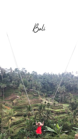 A SHORT TITLE Bali