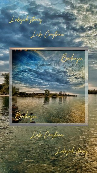Bodensee Bodensee Lake Constance Lakeside stories Lake Constance Lakeside stories
