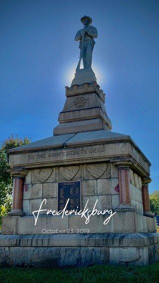 Fredericksburg October 23, 2019