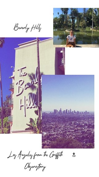 Beverly Hills Los Angeles from the Griffith Observstory 🔝