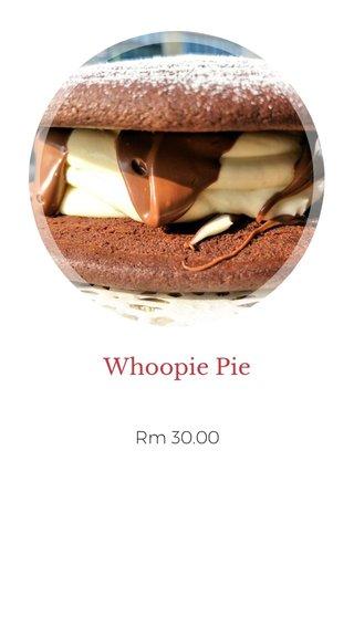 Whoopie Pie Rm 30.00