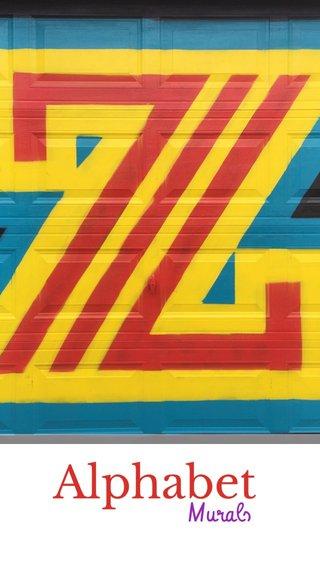 Alphabet Murals