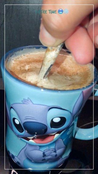 Coffee time 🥶❄️
