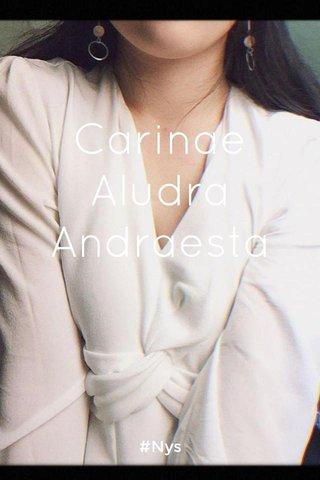 Carinae Aludra Andraesta #Nys