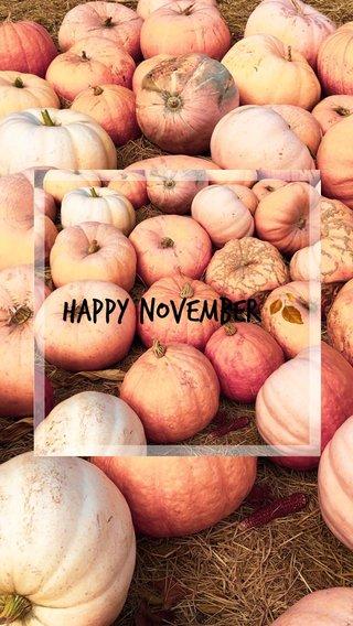 Happy November 🍂