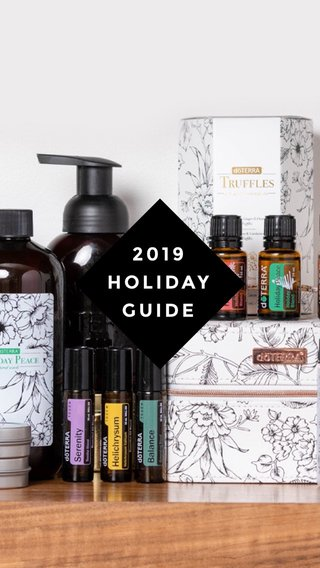 2019 HOLIDAY GUIDE