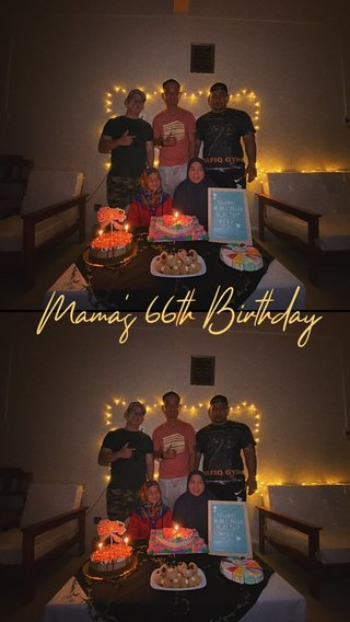 Mama's 66th Birthday