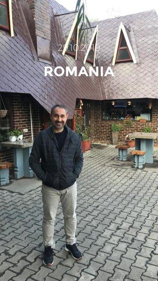ROMANIA 29.10.2019