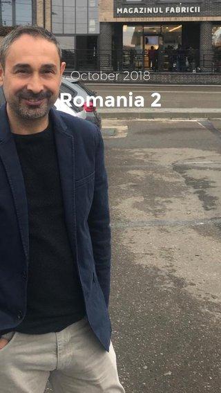 Romania 2 October 2018