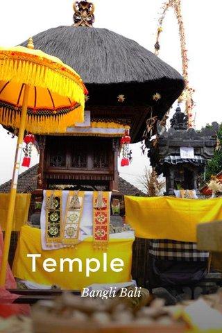 Temple Bangli Bali