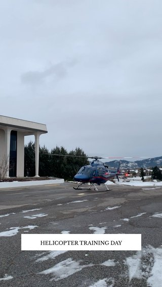 HELICOPTER TRAINING DAY