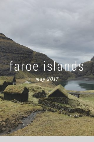 faroe islands may 2017