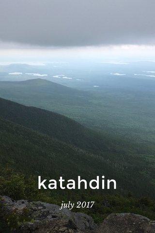 katahdin july 2017