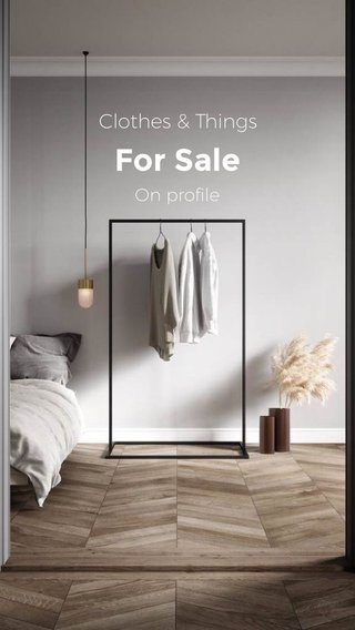 For Sale Clothes & Things On profile