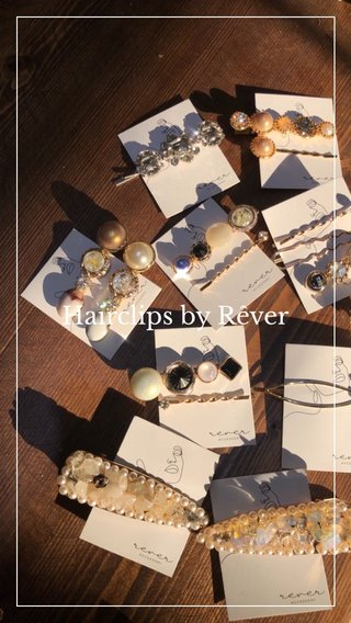 Hairclips by Rêver
