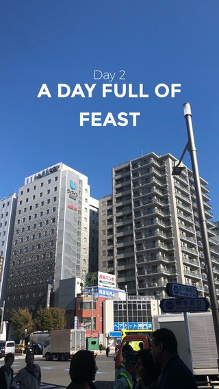 A DAY FULL OF FEAST Day 2