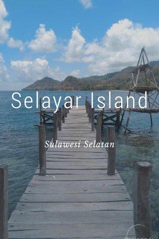 Selayar Island Sulawesi Selatan