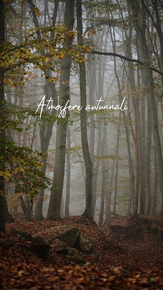 Atmosfere autunnali
